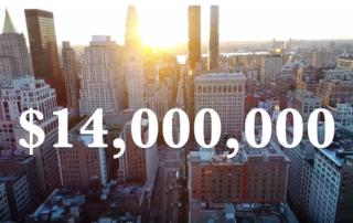 Люксовые апартаменты в Нью Йорке за 14 миллионов долларов