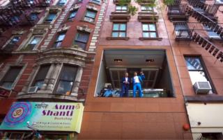 Необычная квартира в Нью Йорке